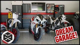 DREAM GARAGE SETUP TOUR!!