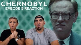 Chernobyl Episode 5 'Vichnaya Pamyat' Finale REACTION!!