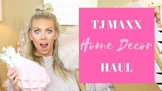 🏡🛍 TJ Maxx HOME DECOR Haul 🏡🛍 | SamanthaSchuerman