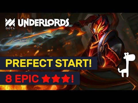 Epic 8 ★★★ Build! Prefect Knockout Starter & Strategies! | Dota Underlords