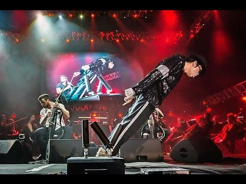 Michael Jackson with 2cellos - Smooth Criminal - live in concert 2017