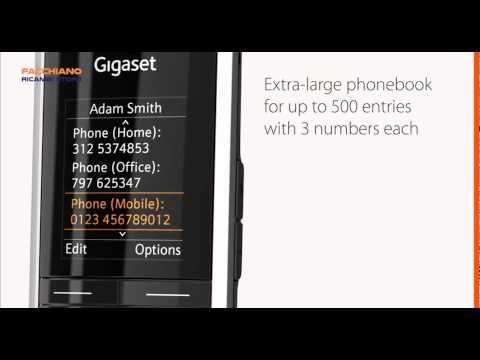 Telefono Cordless S850 - Siemens - Gigaset - Voip - USB - Bluetooth