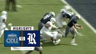 Gambar cover Old Dominion vs. Rice Football Highlights (2018)   Stadium