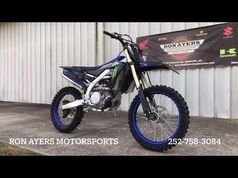2021 Yamaha YZ450F Monster Energy Yamaha Racing Edition in Greenville, North Carolina - Video 1