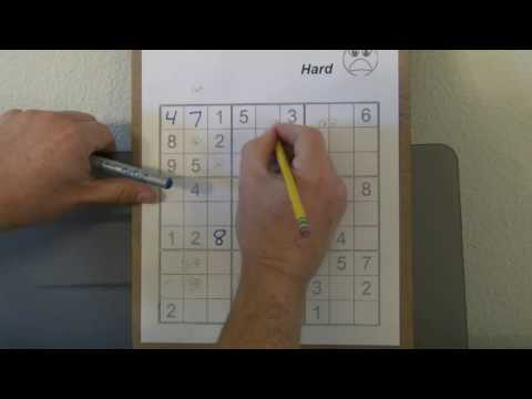 How to Solve HARD Sudoku Puzzles