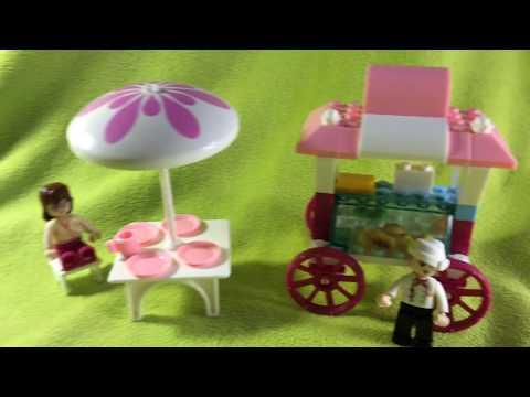 Lego совместимый конструктор Sluban, Розовая мечта - Кафе на колесах, M38-B0522