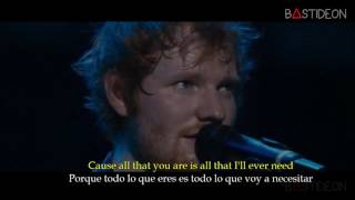 Ed Sheeran - Tenerife Sea (Sub Español + Lyrics)