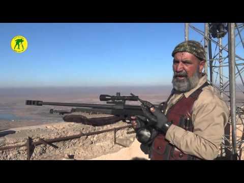 在幾個月內就射殺177位ISIS恐怖份子的超猛62歲阿伯