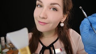 АСМР Ролевая игра Косметолог 💆 Чистка лица | ASMR Role play Cosmetologist 🖐💆  Face cleaning