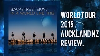 Backstreet boys: In a world like this-World tour NZ