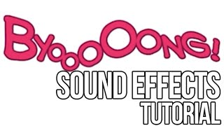Sound Effects Tutorial By Doxy