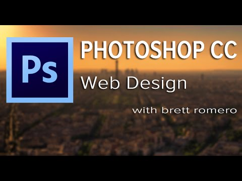 Photoshop CC Tutorial For Beginners: Web Design Made Easy