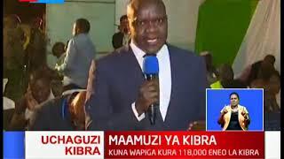 Matokea ya uchaguzi wa Kibra kutangazwa katika ukumbi wa Dagoretti