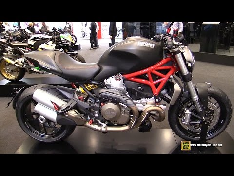 2015 Ducati Monster 1200 - Walkaround - 2014 EICMA Milan Motorcycle Exhibition