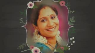 Happy birthday to my dearest Amma Wishing her the best of health and happiness always