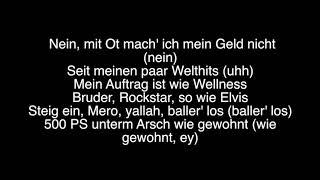 Eno Feat. Mero   Ferrari I Lyrics