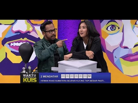 Waktu Indonesia Bercanda- Olivia Zalianty Mau Teraktir Bedu Kalau Jawabannya Bener (3/4)