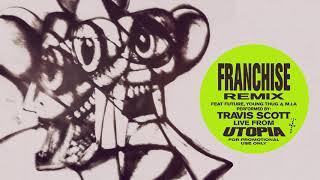 Musik-Video-Miniaturansicht zu FRANCHISE (Remix) Songtext von Travis Scott