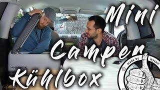 Kühlschrank im Auto, Kompressor Kühlbox einbauen - Teil 4 Auto in Mini Camper umbauen, Leben im Auto