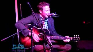 Josh Ritter - Getting Ready to Get Down (KRVB Radio Acoustic)