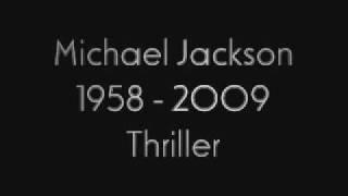 Michael Jackson - Thriller (2003 Radio Edit)