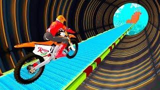 Bike Racing Games - Bike Stunts : Crazy Drivers 3D - Gameplay Android free games