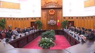 Chủ tịch Uỷ ban TW MTTQ Việt Nam Nguyễn Thiện Nhân làm việc với tỉnh Thanh Hóa