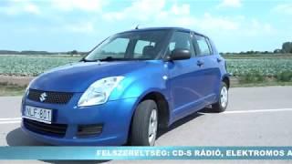 Suzuki Swift - autóbérlés 5 490 Ft /nap
