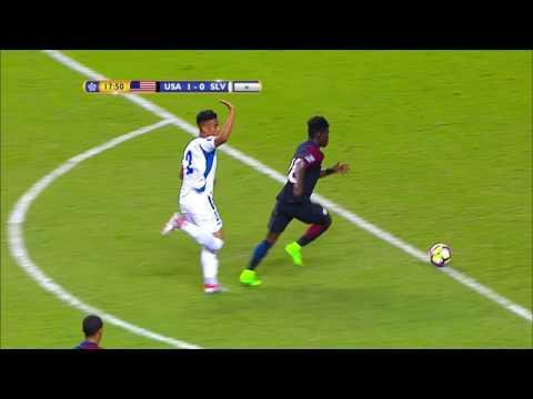 CU20 2017: United States vs El Salvador Highlights