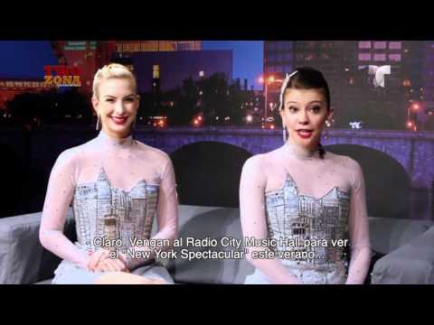 Las Bailarinas del Radio City Rockettes Visitan Telemundo Hartford/Springfield | Two Zona
