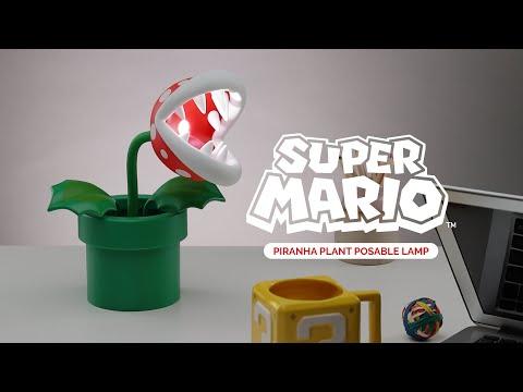 Lampka Super Mario 3D - figurka Piranha Plant