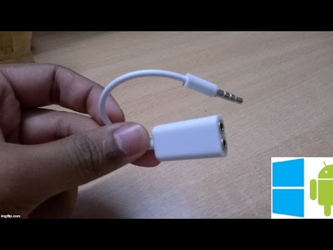 50) 3.5 mm audio splitter cable unboxing video (flipkart)