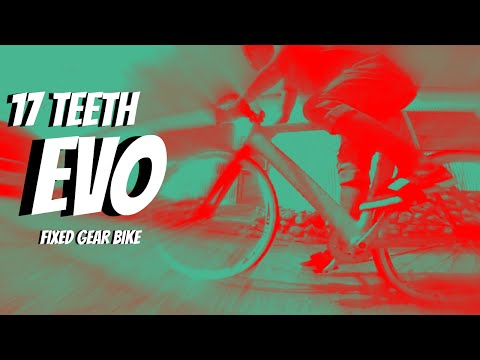17 Teeth Evo Fixed Gear Bike Ride