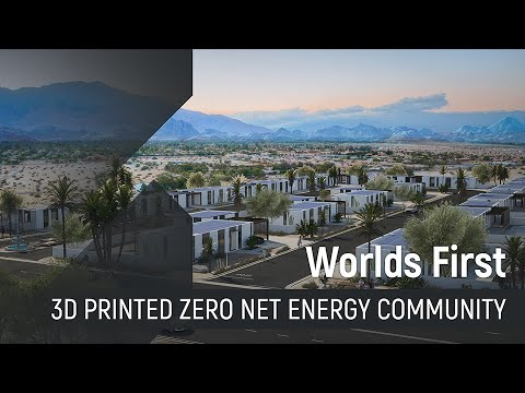 First 3D-printed housing development to be built in California
