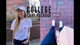 COLLEGE CARE PACKAGE UNBOXING