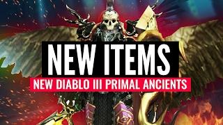 NEW ITEM TYPE!... Diablo III Primal Legendaries
