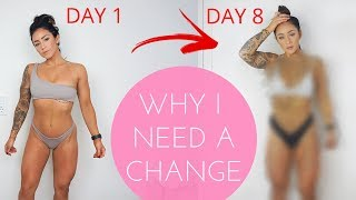 THIS IS HOW MY BODY CHANGED AFTER 1 WEEK! 60 DAYS CHALLENGE EP. 2 + MORNING ROUTINE