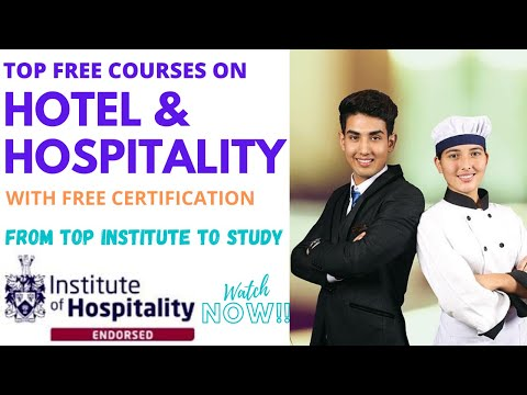 Free Hospitality Courses Online | Free Certification | ABCS
