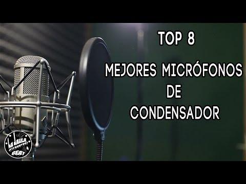 TOP 8 Mejores Micrófonos De Condensador Para Grabar Studio  (2018)