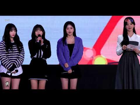 """201018 / 에이프릴 (April) 나은 직캠 """" 인터뷰 """" 춘천 KBS 라디오 [4K…"""