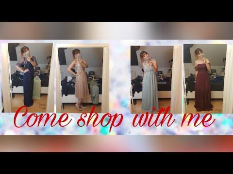 Come shop with me I Helft mir das perfekte Kleid als Trauzeugin zu finden I by meloflori