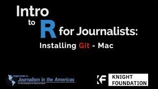 Installing Git for a Mac