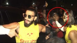 Ranveer ANGRY At Reporter For Taking Deepika's Name