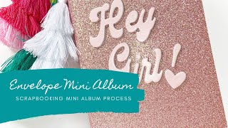Creating An Envelope Mini Album - So EASY!