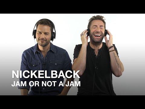 Nickelback play Jam or Not a Jam!