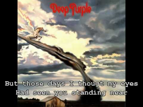 Deep Purple - Soldier of Fortune | Lyrics Video | HQ