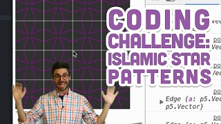 Coding Challenge #54.1: Islamic Star Patterns