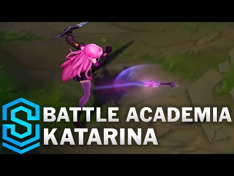 Battle Academia Katarina Skin Spotlight - League of Legends
