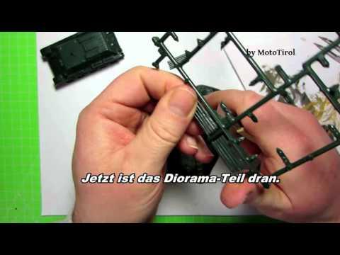 Revell T-34/76 Modell 1940 Bauschritte, Figur und Diorama Bemalung