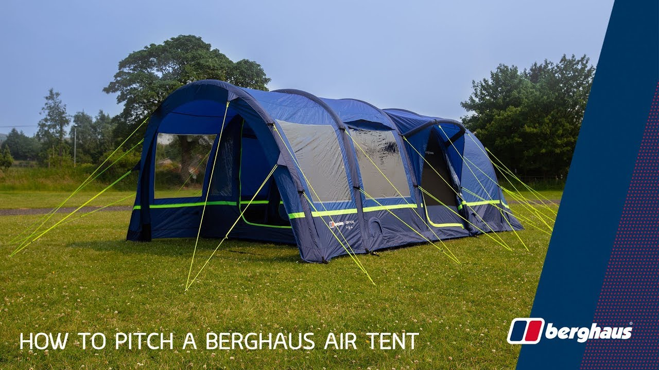 How To Pitch A Berghaus Air Tent